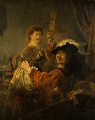 Rembandt van Rijn en Saskia in de parabel van de Verloren Zoon